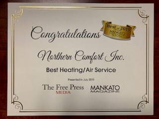 Best heating and air service
